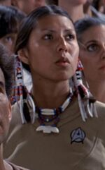 USS Enterprise operations Native American officer