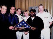 First Flight sailors