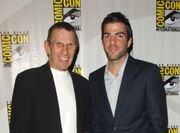 Nimoy and Quinto