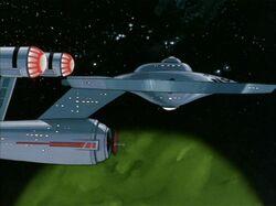 Phylos, Enterprise orbiting