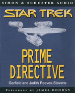 Prime Directive audiobook cover, UK cassette edition