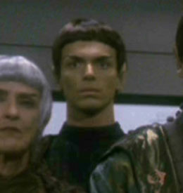 ...as a Vulcan delegate