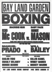 Boxing Poster from Past Tense, Part II