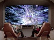 Crystalline entity on viewscreen