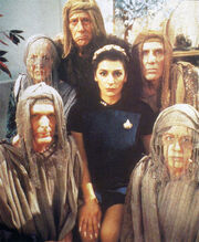 Marina Sirtis with Bandi