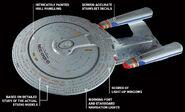 Star Trek TNG Build The USS Enterprise-D model details