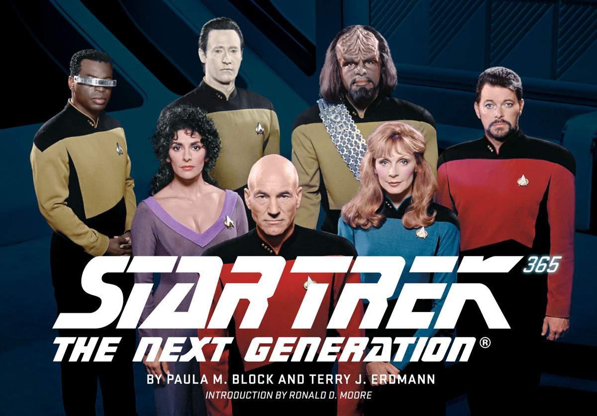 Star Trek The Next Generation 365 Cover