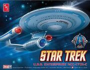 AMT Model kit AMT661 USS Enterprise-C 2010