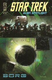 Alien Spotlight Borg cover B
