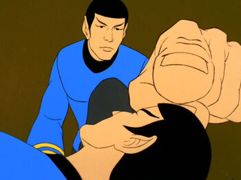 Spock Two mind touches the original Spock