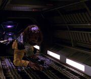 Worf in jefferies tube