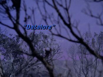 Datalore title card