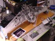 Battle damaged Miranda class rollbar