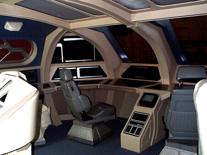 Cockpit des Runabout Sets - Vorderer Sitz an Backbord