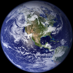 Earth globe 256pix