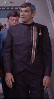 Sareks dress uniform