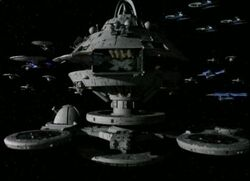 Starbase 375 with ships