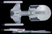 USS Excelsior study model by Nilo Rodis as USS Alka-Selsior