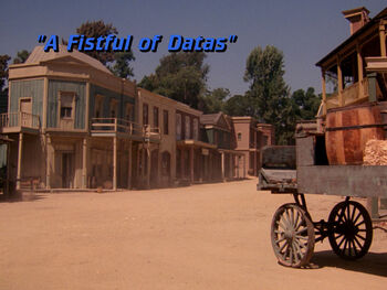 A Fistful of Datas title card
