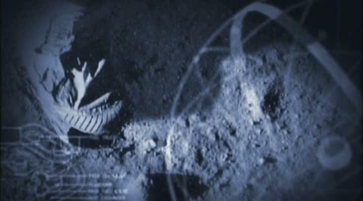 Fuß auf Mond