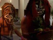 Hawaiianische Männer Hologramme