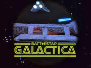 Original Battlestar Galactica series opening title and logo