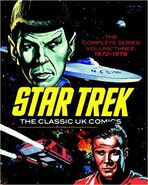 Star Trek Classic UK Comics Vol 3 cover