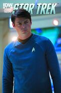 Star Trek Ongoing issue 8 retail incentive cover B