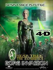 Borg Invasion 4D promotional poster