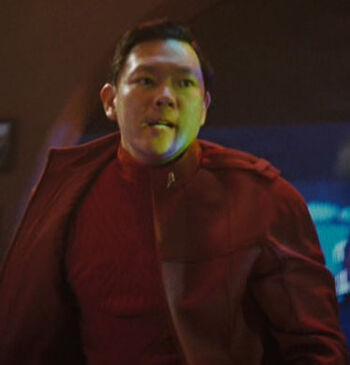 ... as a Starfleet cadet in <i>Star Trek</i>