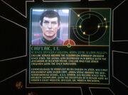 Chu'lak's personnel file, 2375