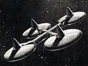 Deep Space Station K-7 NASA design origins