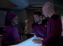 Guinan Riker Picard (2365)