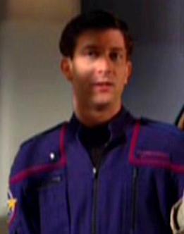 ...as a Starfleet ensign