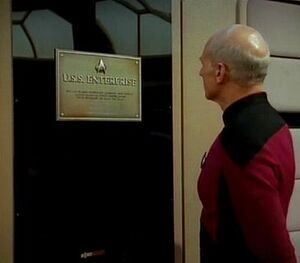 Plaque USS Enterprise-D (NCC-1701-D)