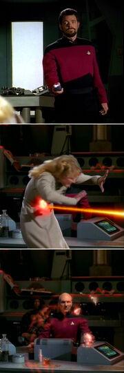 Riker kills Yuta
