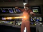 Riker schießt auf Kira