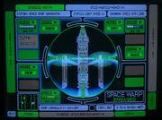 Space warp generator display