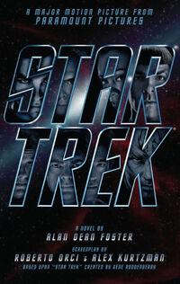 Star Trek novelization cover