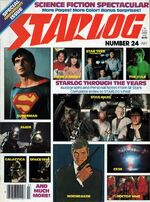 Starlog issue 024 cover
