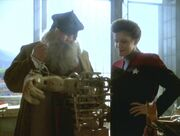 Captain Janeway und Leonardo da Vinci