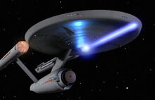 Enterprise firing phaser proximity blast-0