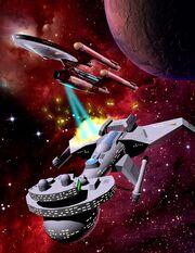 Federation Commander Battleships Attack