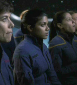 ... as a science division crewmember