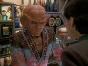 Quark rät Ezri von Worf ab