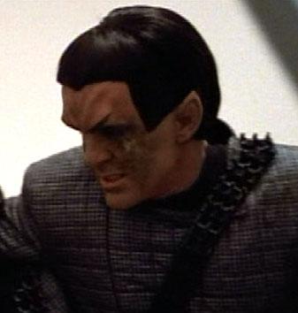 ... as a Romulan officer