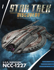 Star Trek Discovery Starships Collection issue 01
