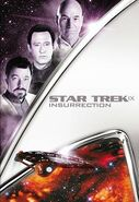 Star Trek Insurrection 2013 DVD cover Region 1