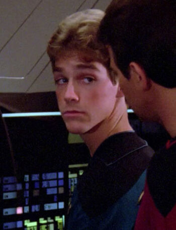 ...as Ensign Youngblood