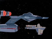 Enterprise (NCC-1701) und NCC-G1423